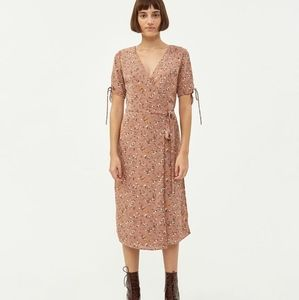 Farrow Marie Floral Wrap Dress
